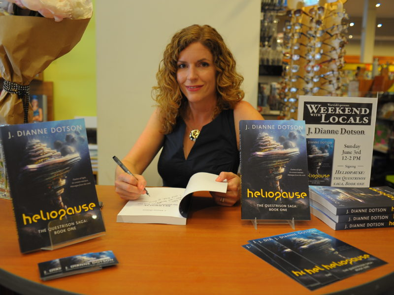 The First Book Signing