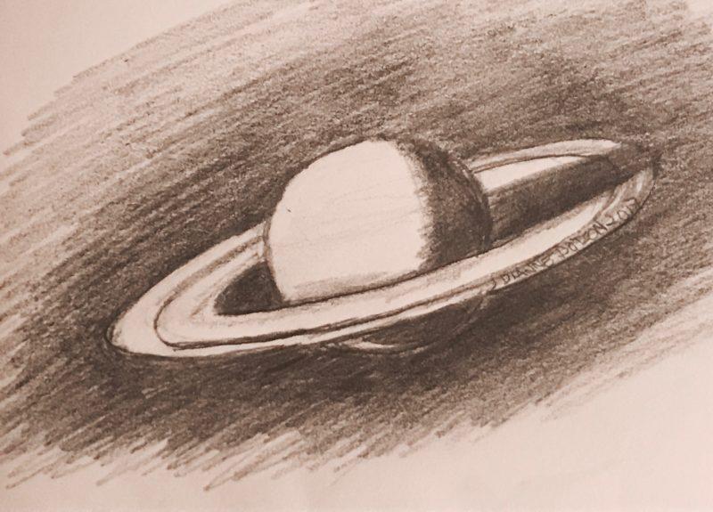 Cassini Meets the Ringworld