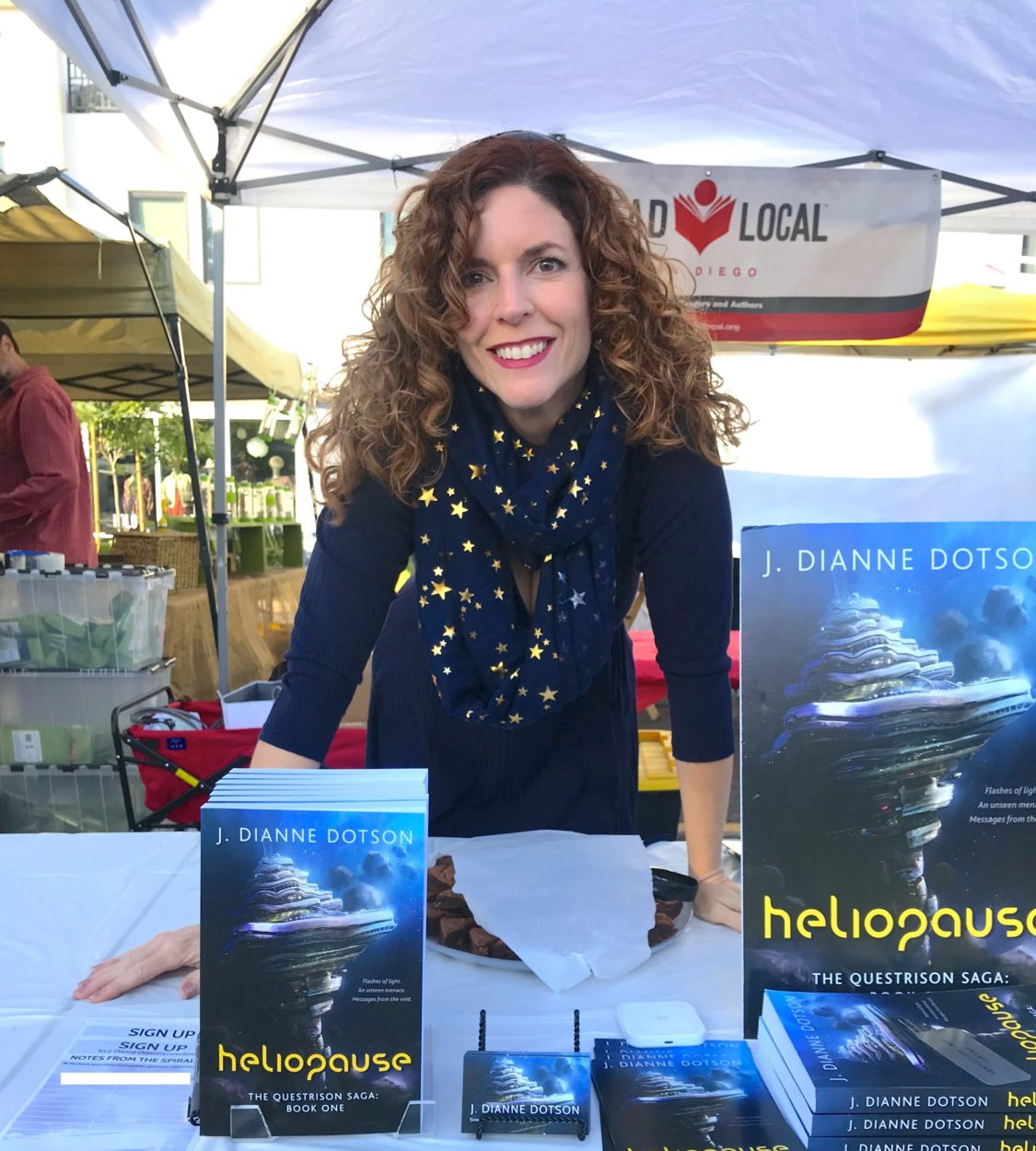 J. Dianne Dotson – Science Fiction and Fantasy Writer – A Read Local Book Signing