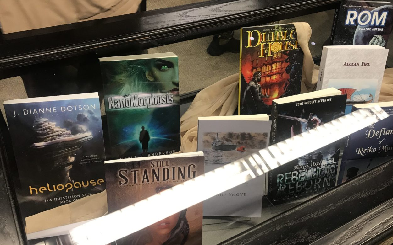 J. Dianne Dotson – Science Fiction and Fantasy Writer – Local Author Showcase