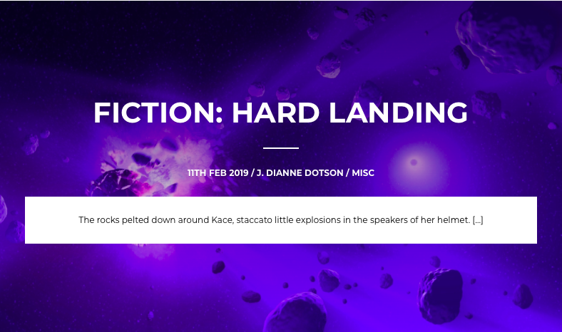 Short Science Fiction: Hard Landing
