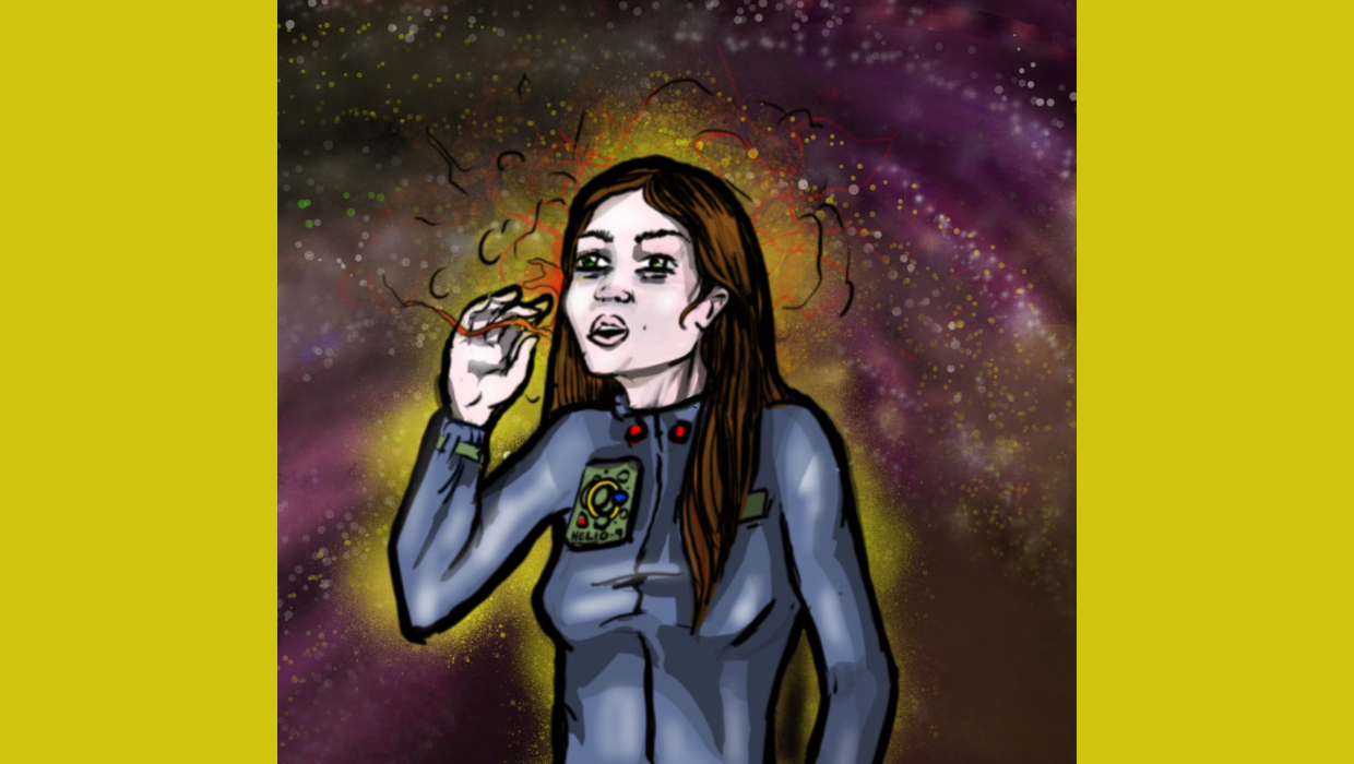 J. Dianne Dotson – Science Fiction and Fantasy Writer – Art for Heliopause: Ariel