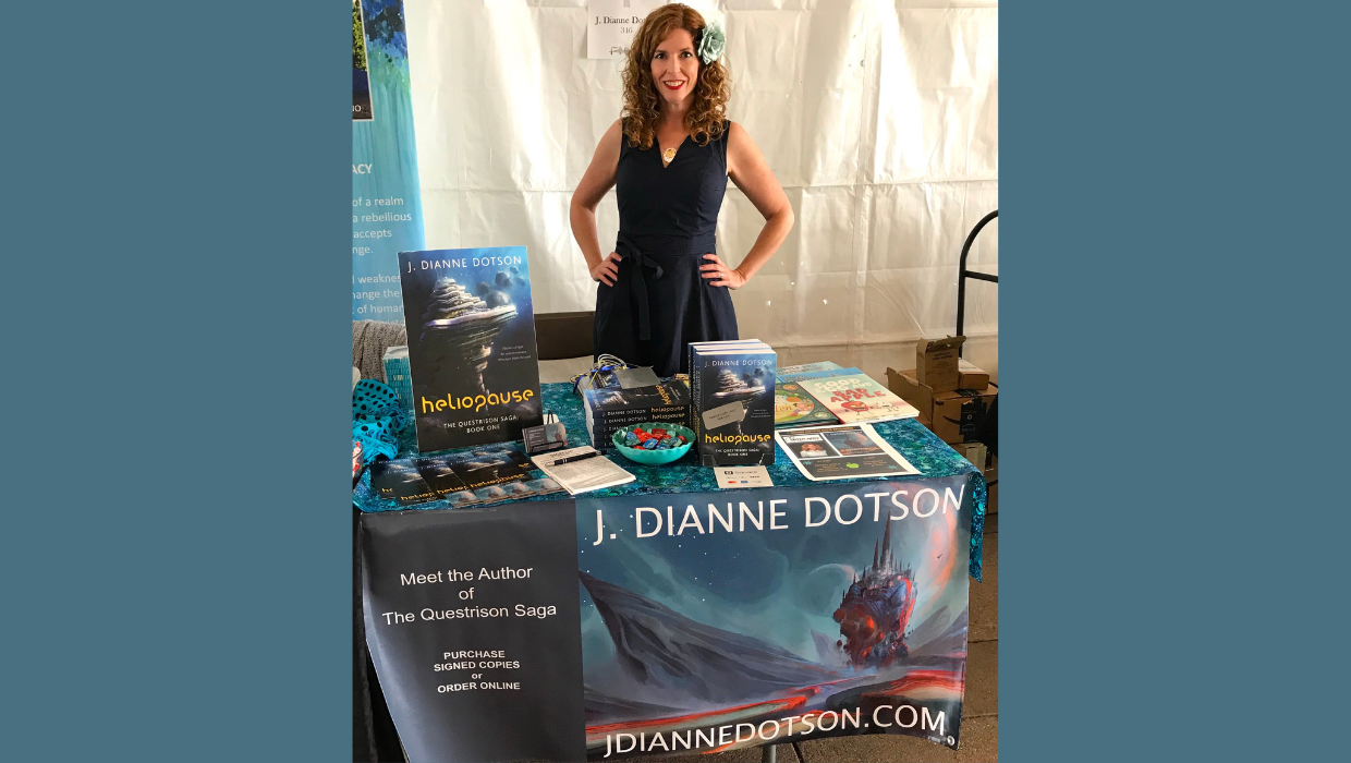 J. Dianne Dotson – Science Fiction and Fantasy Writer – Bay Area Book Festival 2019