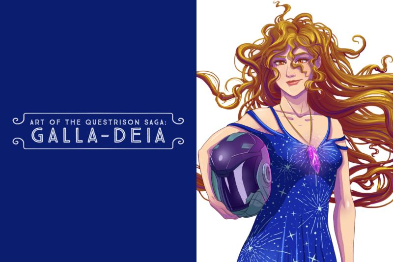 Art of The Questrison Saga: Galla-Deia