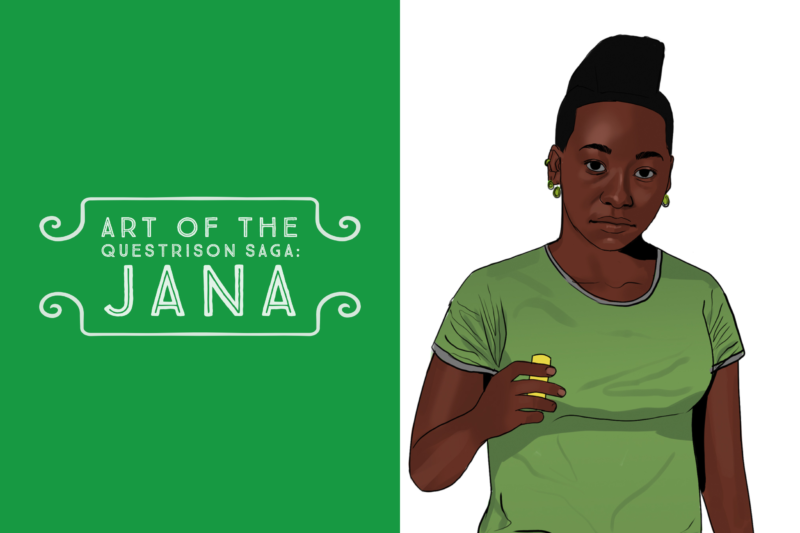 Art of The Questrison Saga: Jana