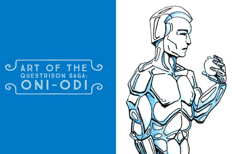 Art of The Questrison Saga: Oni-Odi