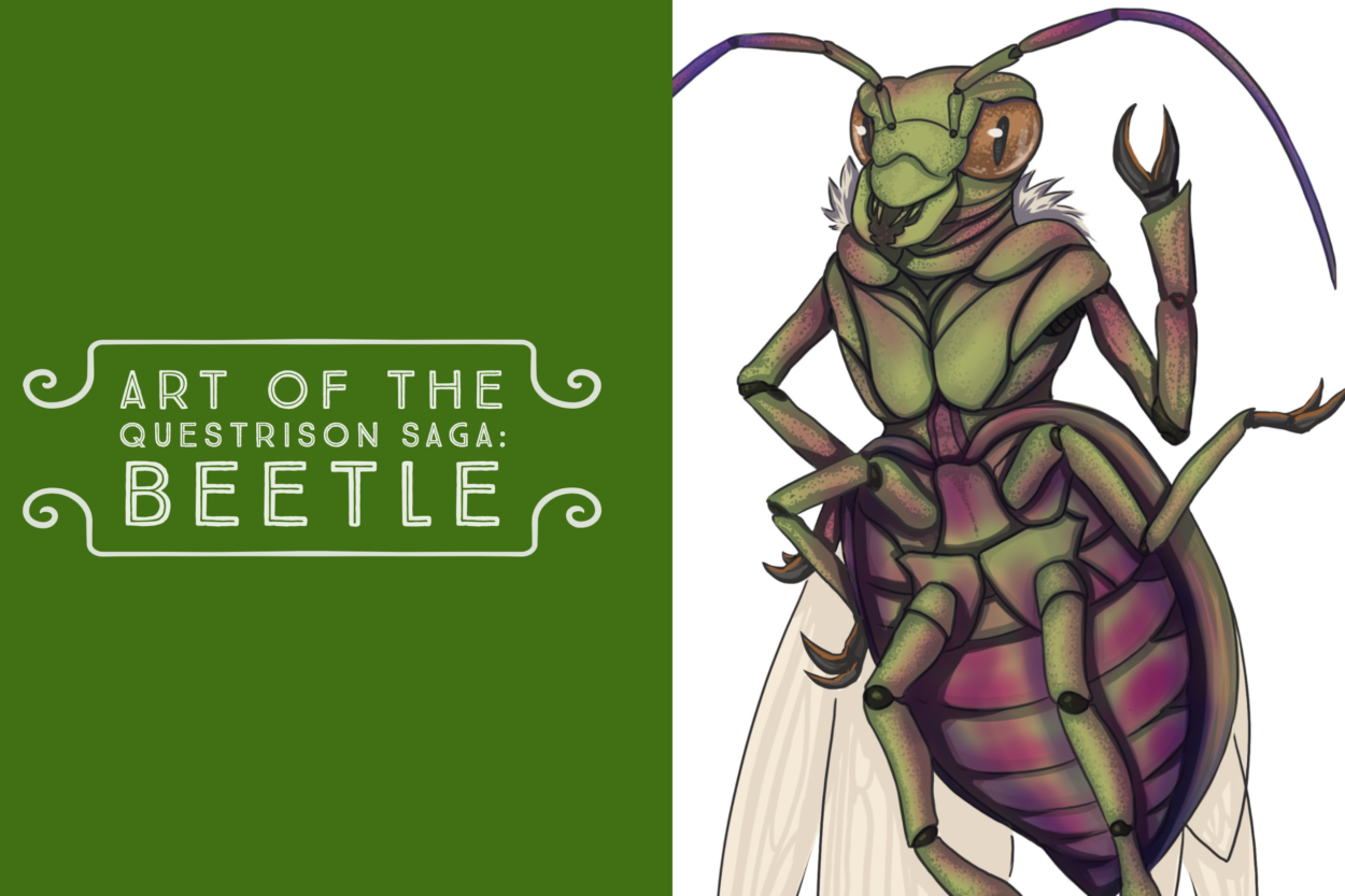Art of The Questrison Saga: Beetle