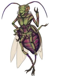 J. Dianne Dotson – Science Fiction and Fantasy Writer – Art of The Questrison Saga: Beetle