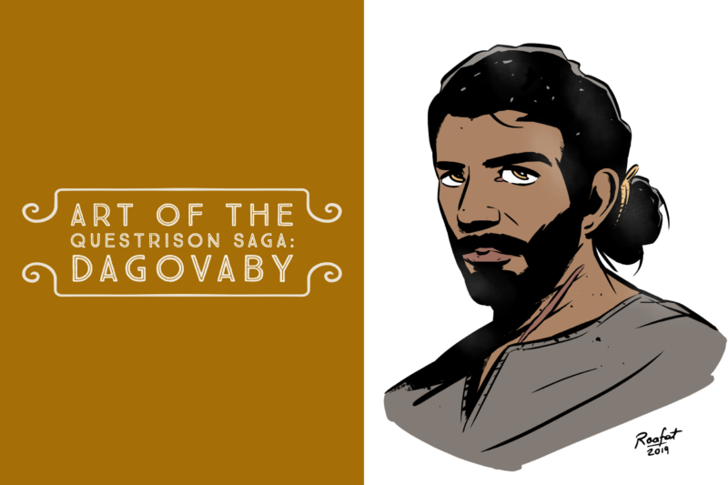 Art of The Questrison Saga: Dagovaby
