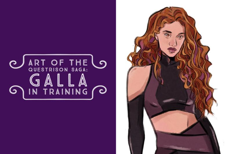 Art of The Questrison Saga: Galla in Training
