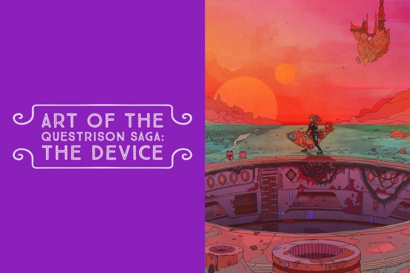 Art of The Questrison Saga: The Device