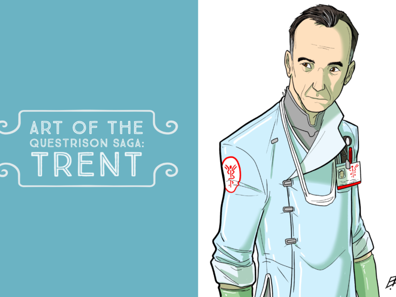 Art of The Questrison Saga: Trent