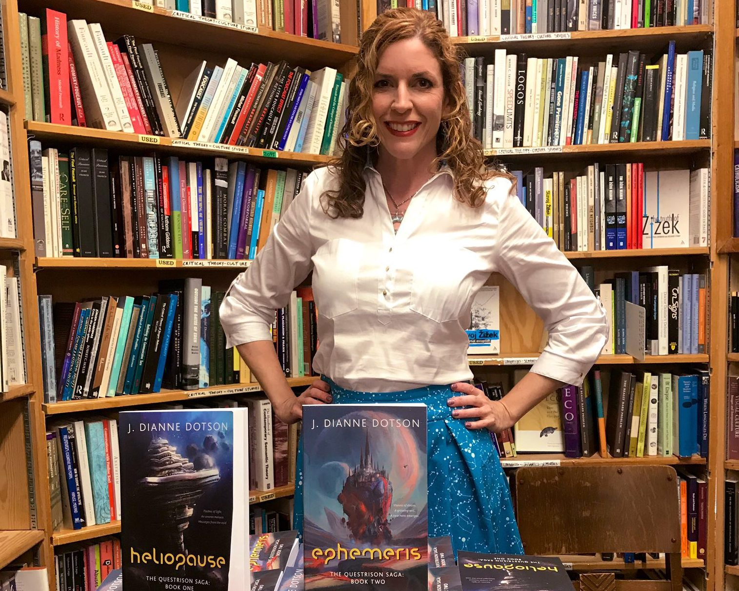 J. Dianne Dotson – Science Fiction and Fantasy Writer – My San Francisco Book Signing