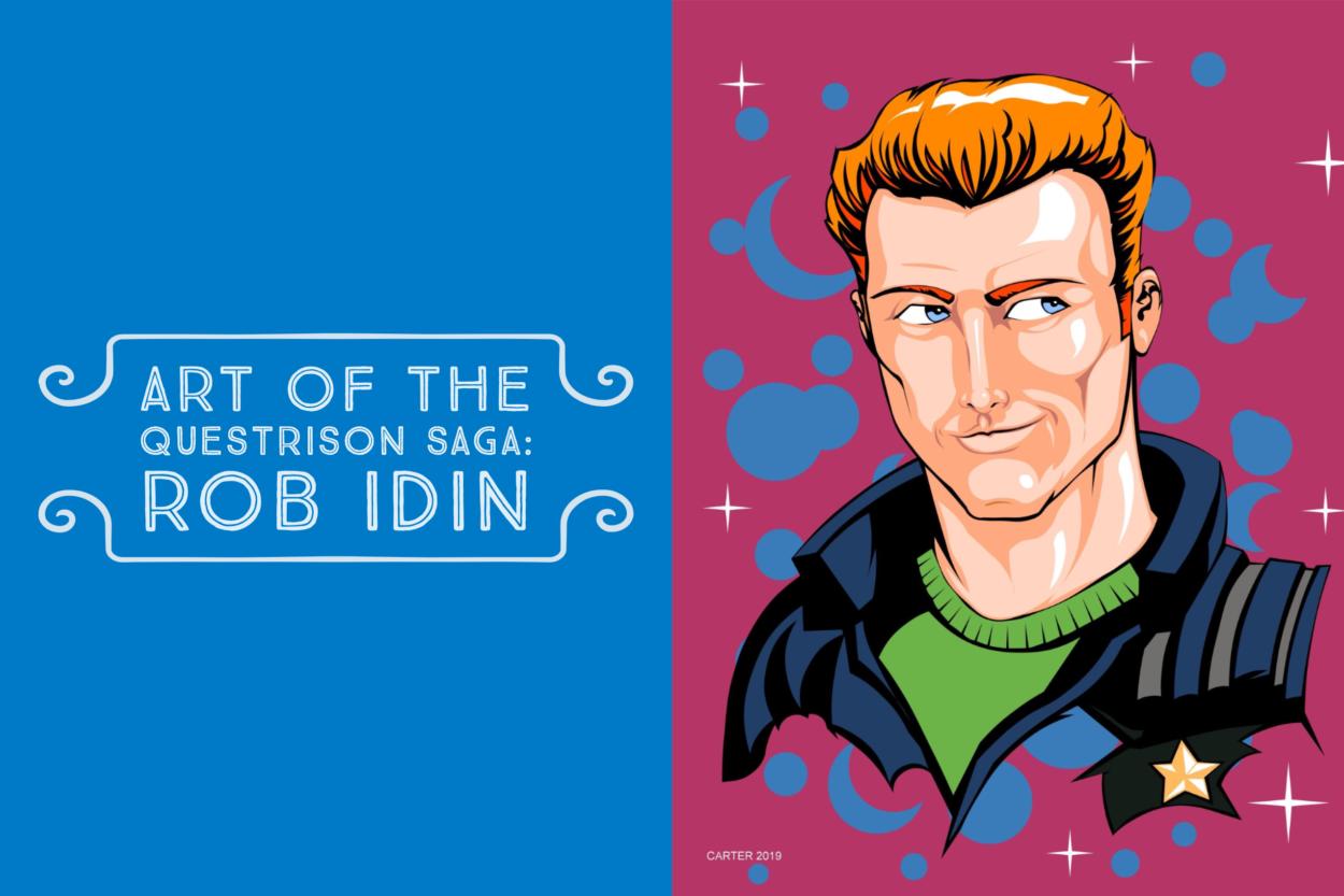 Art of The Questrison Saga: Rob Idin