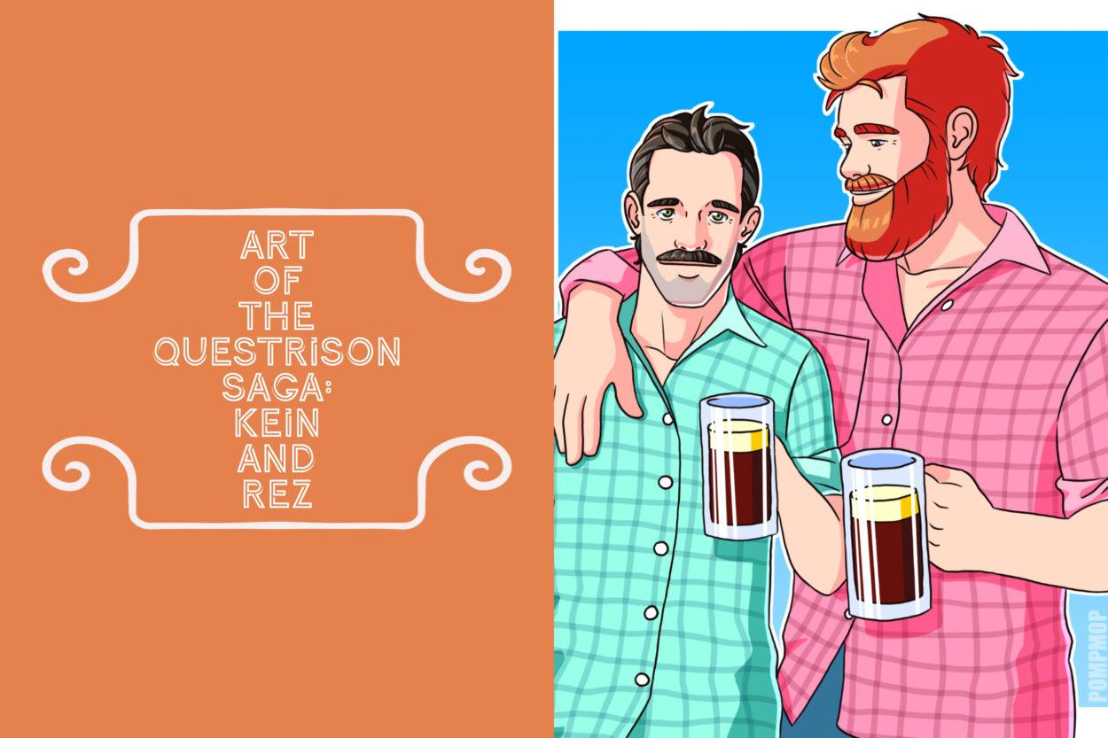 Art of The Questrison Saga: Kein and Rez