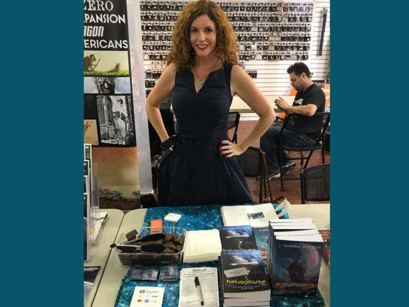 A Los Angeles Book Signing