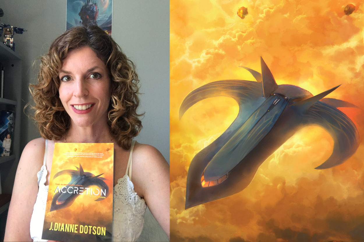 J. Dianne Dotson – Science Fiction and Fantasy Writer - Accretion Is Here!