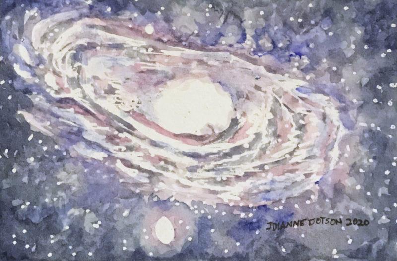 Galaxies and Rhubarb Cake