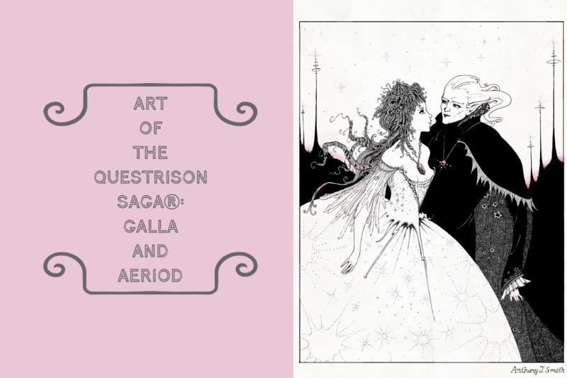 Art of The Questrison Saga®: Galla and Aeriod