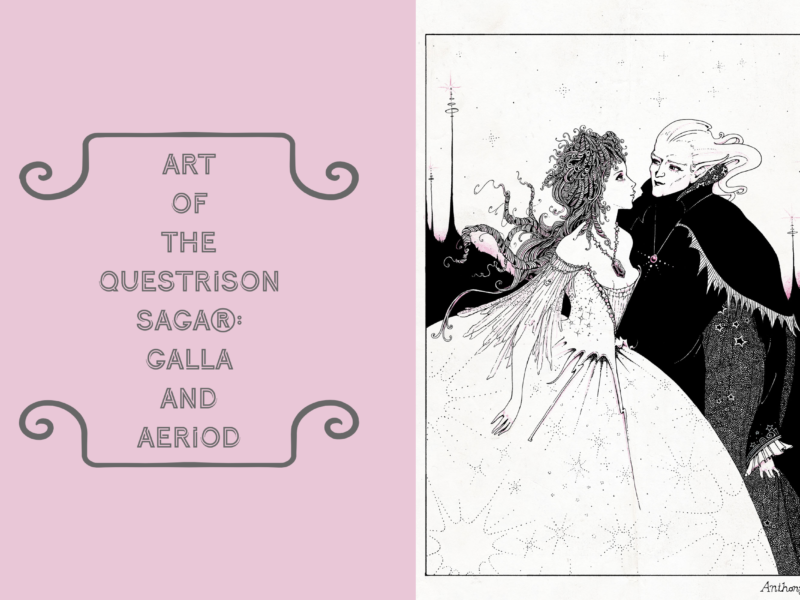 Art of The Questrison Saga®: Galla and Aeriod