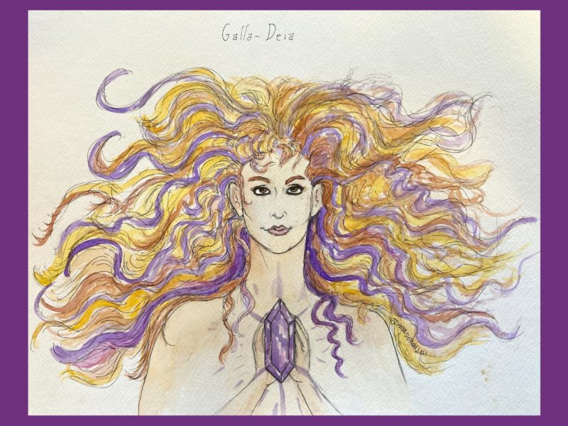 The Hair of Galla-Deia