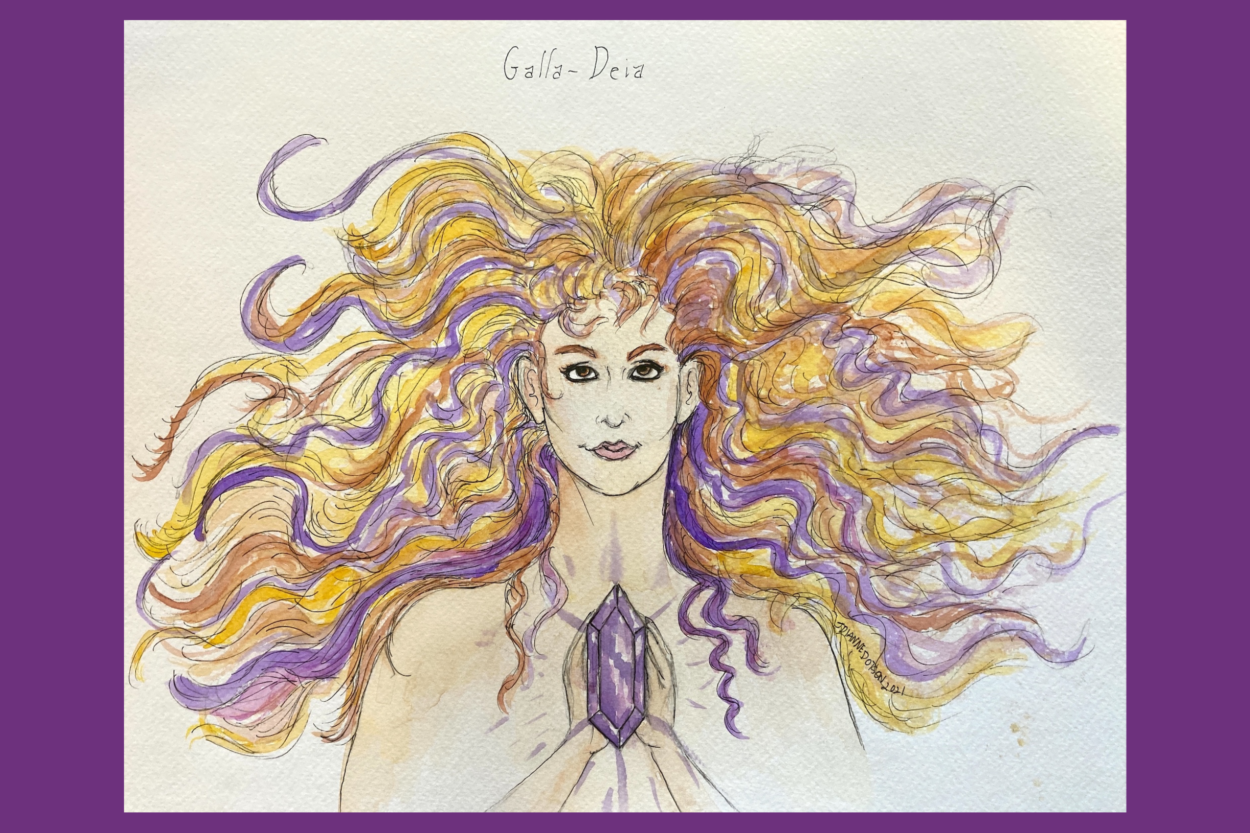 J. Dianne Dotson – Science Fiction and Fantasy Writer - The Hair of Galla-Deia