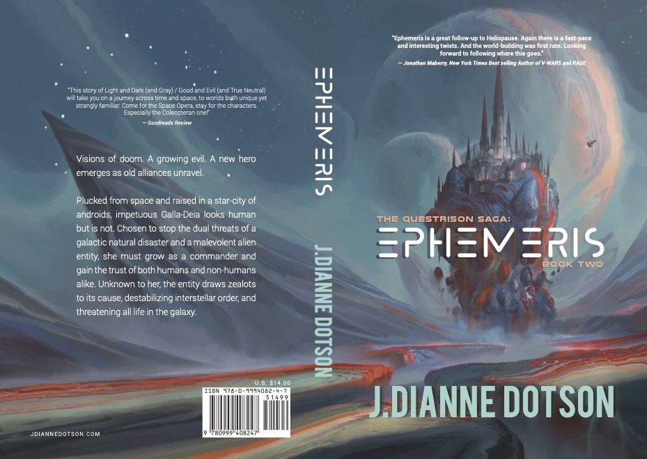 J. Dianne Dotson – Science Fiction and Fantasy Writer - The Haunted Device