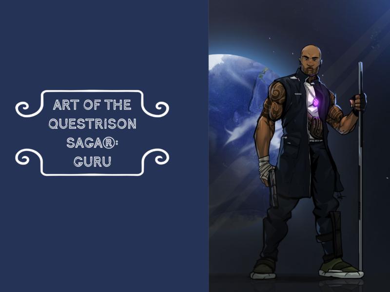 Art of The Questrison Saga®: Guru