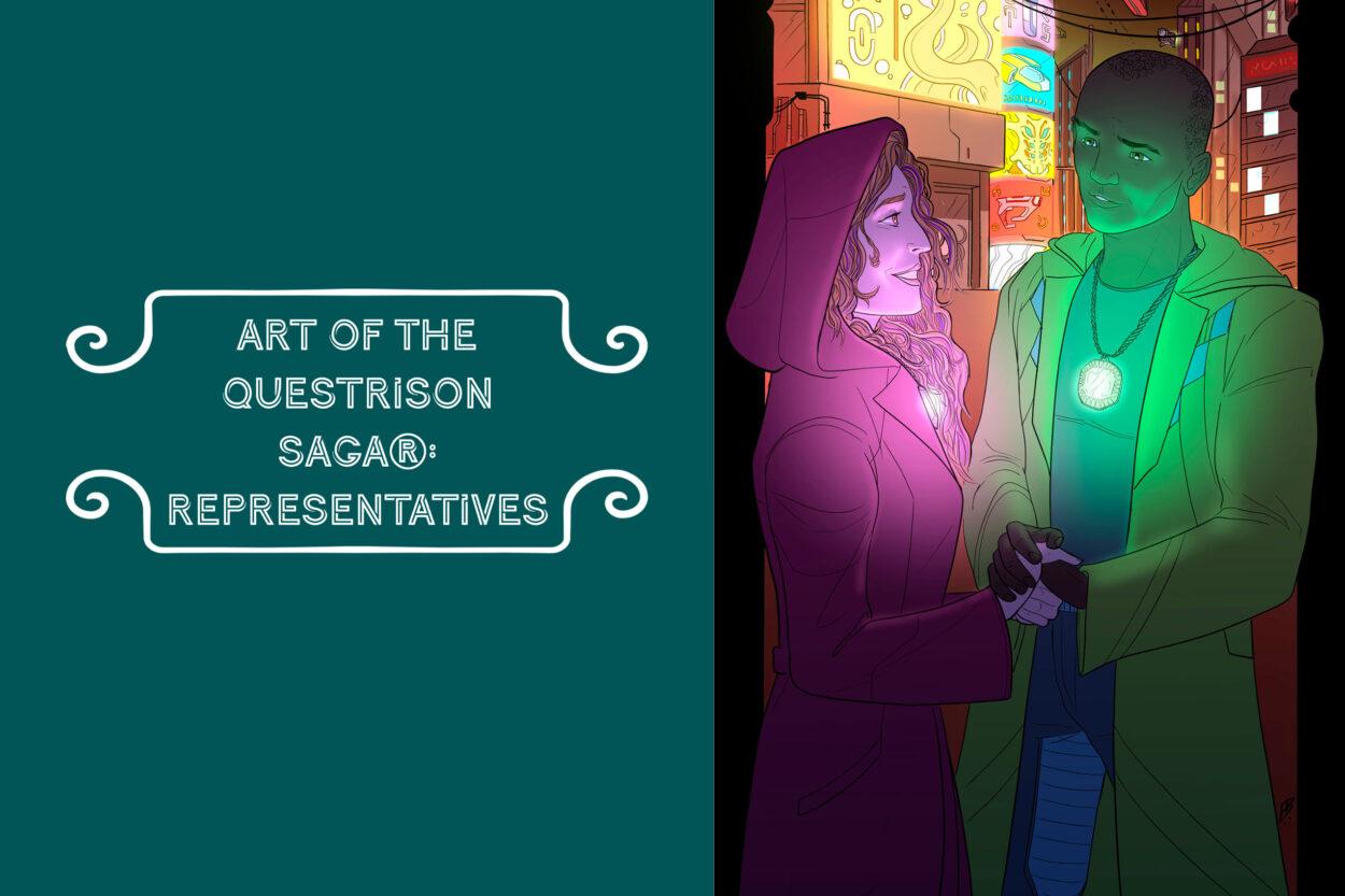 Art of The Questrison Saga®: Representatives