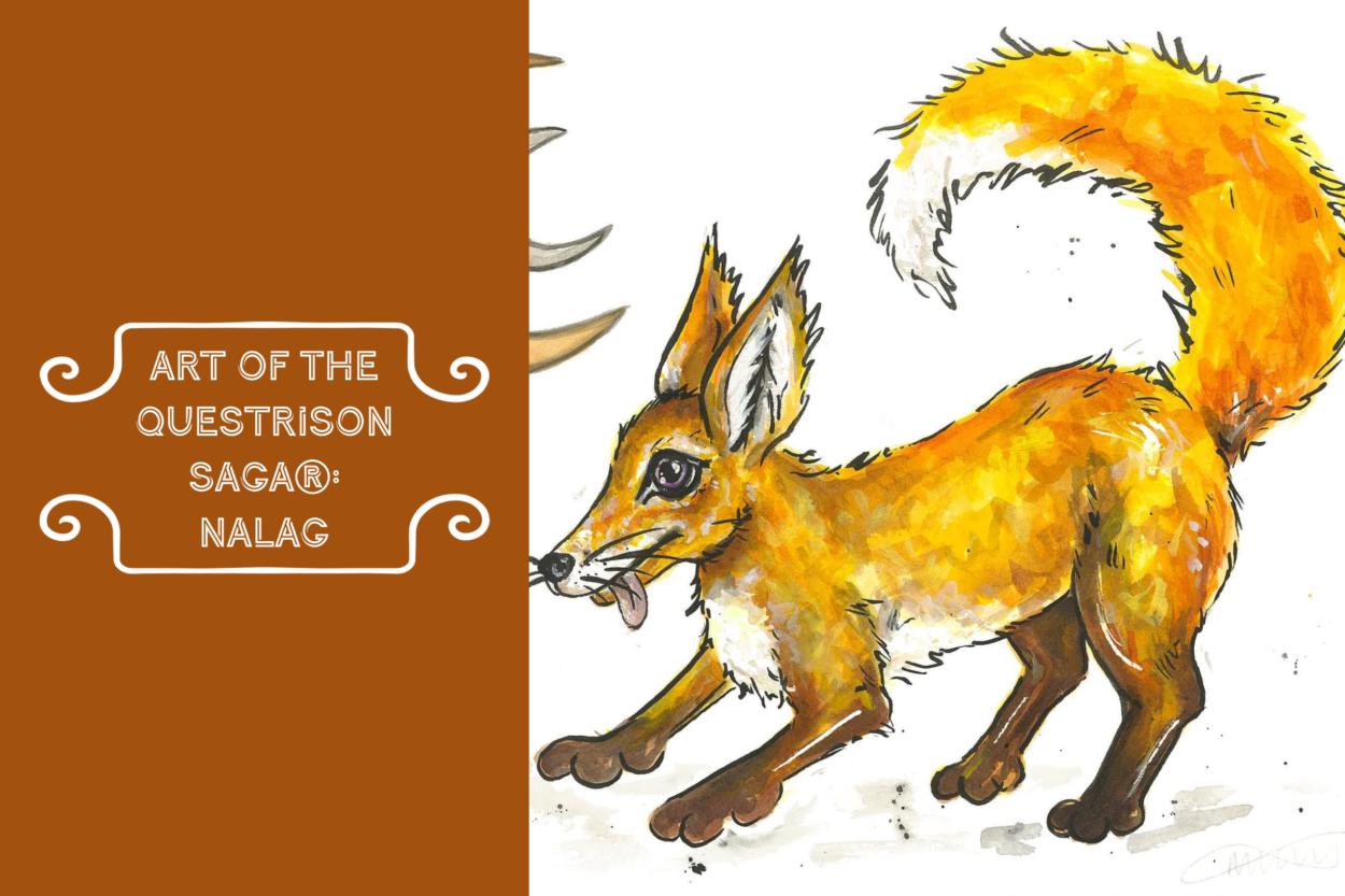 Art of The Questrison Saga®: Nalag