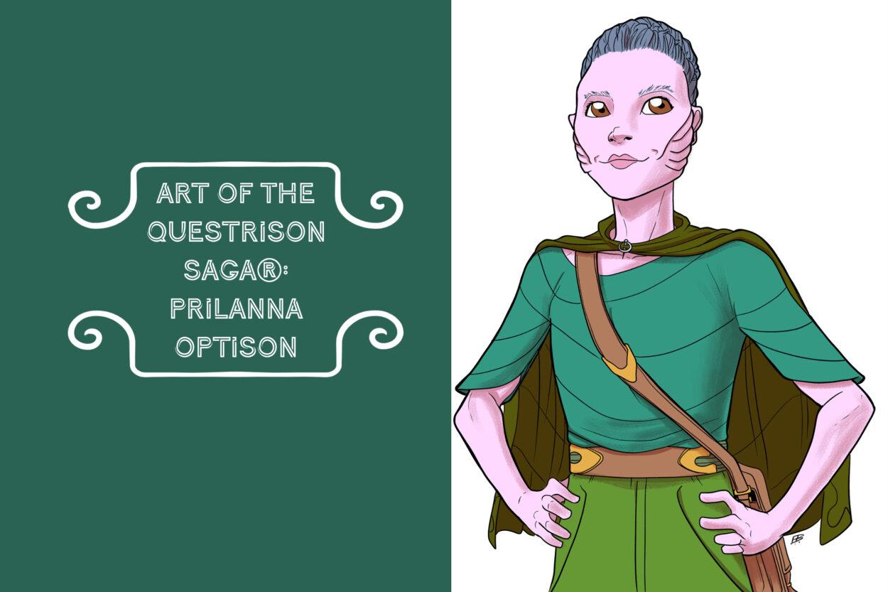 Art of The Questrison Saga®: Prilanna Optison