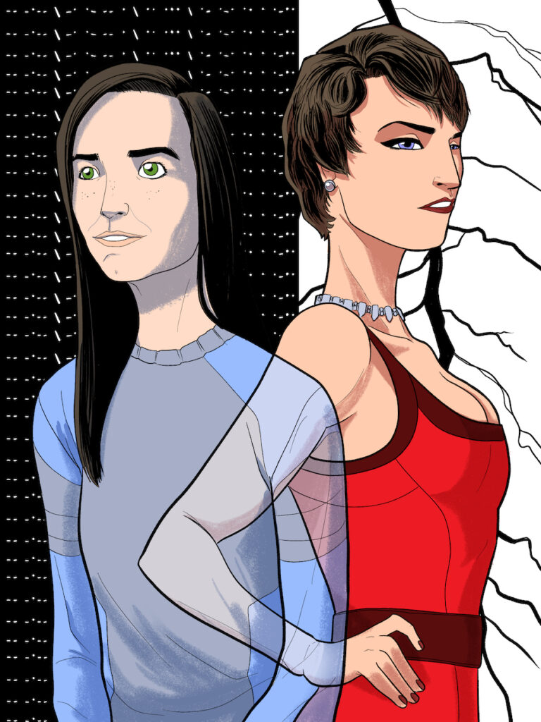 J. Dianne Dotson – Science Fiction and Fantasy Writer - Art of the Questrison Saga®: Ariel and Veronica