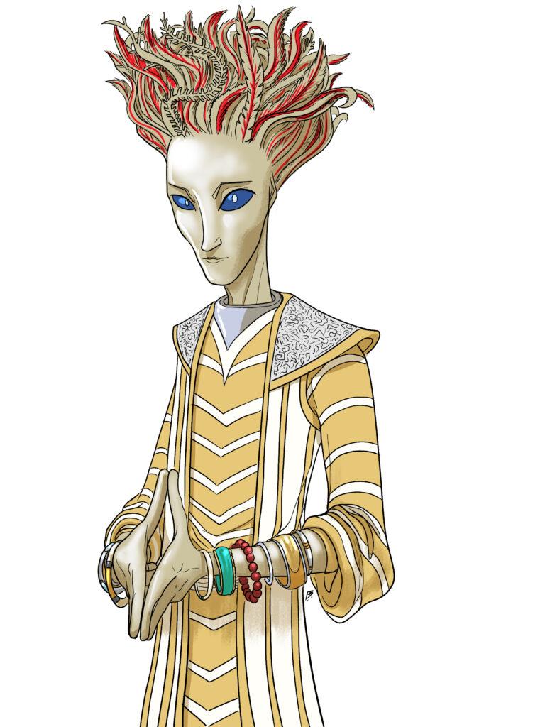 J. Dianne Dotson – Science Fiction and Fantasy Writer - Art of the Questrison Saga®: Prince Hazkinaut