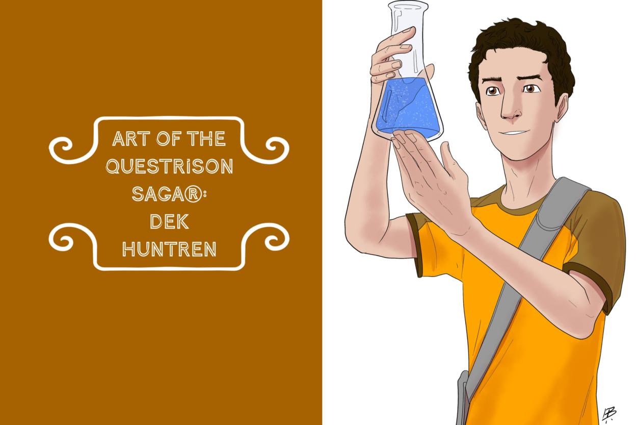Art of The Questrison Saga®: Dek Huntren